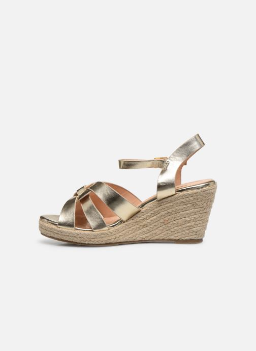 Scarpe di corda I Love Shoes CAMONE Oro e bronzo immagine frontale