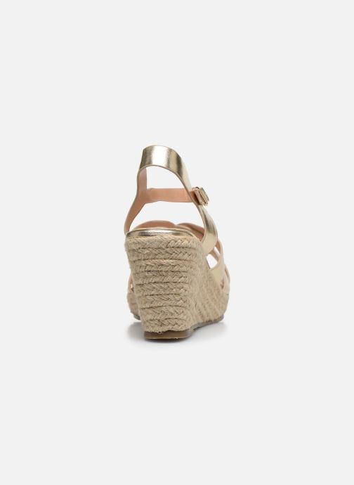 Espadrilles I Love Shoes CAMONE Goud en brons rechts