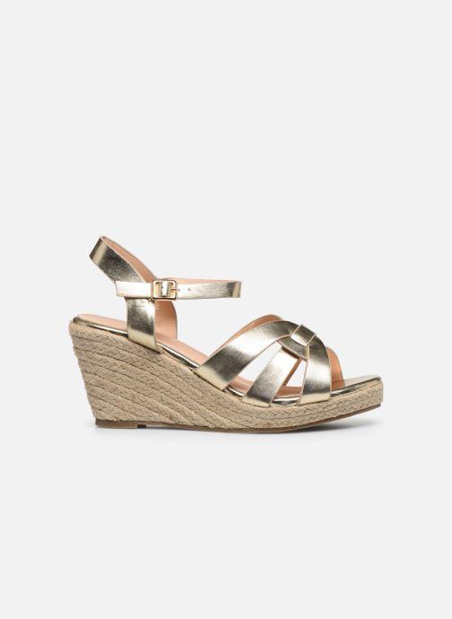 Espadrilles I Love Shoes CAMONE Goud en brons achterkant