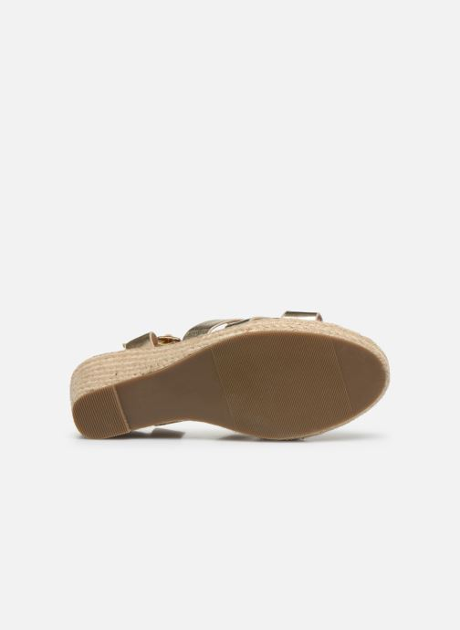 Espadrilles I Love Shoes CAMONE gold/bronze ansicht von oben