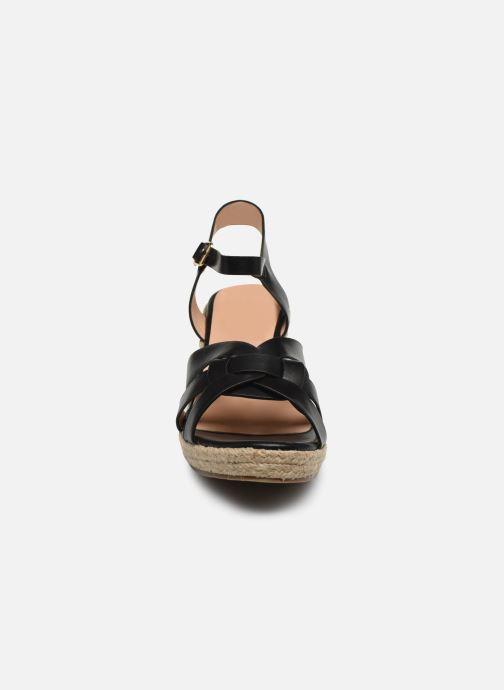 Alpargatas I Love Shoes CAMONE Negro vista del modelo