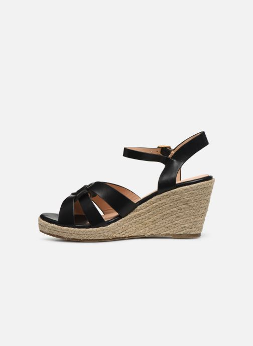 Alpargatas I Love Shoes CAMONE Negro vista de frente