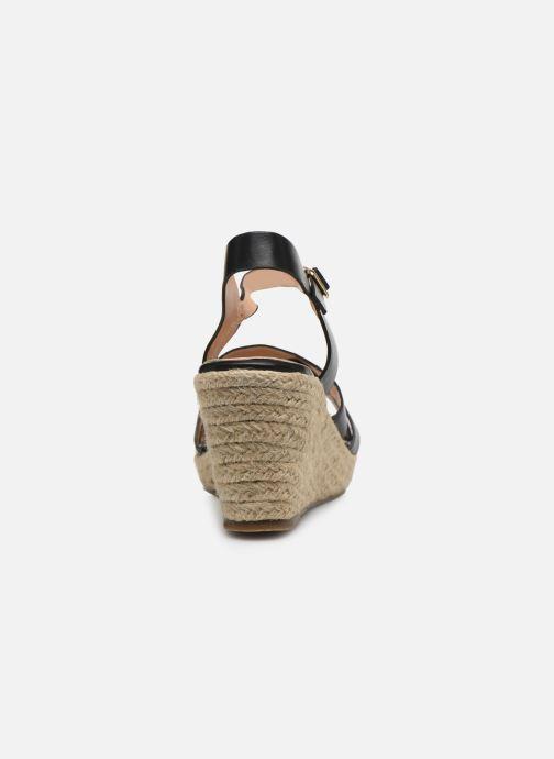 Alpargatas I Love Shoes CAMONE Negro vista lateral derecha