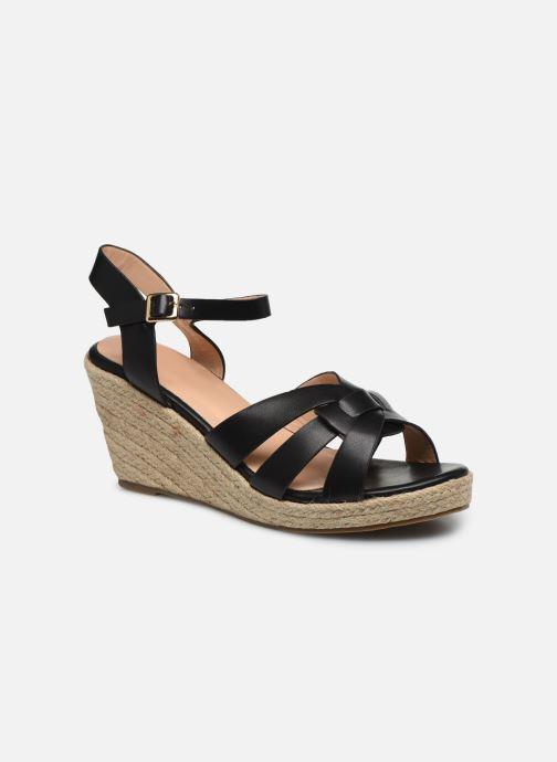 Espadrilles I Love Shoes CAMONE Noir vue détail/paire