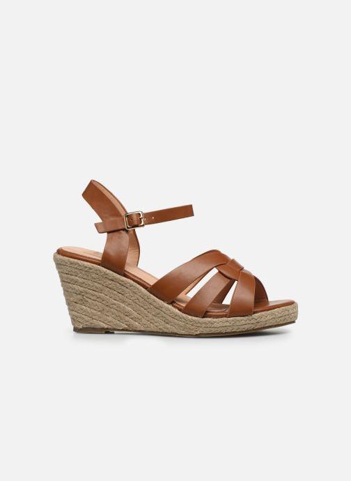 Espadrilles I Love Shoes CAMONE braun ansicht von hinten
