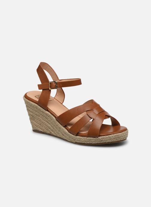 Espadrilles I Love Shoes CAMONE Marron vue détail/paire