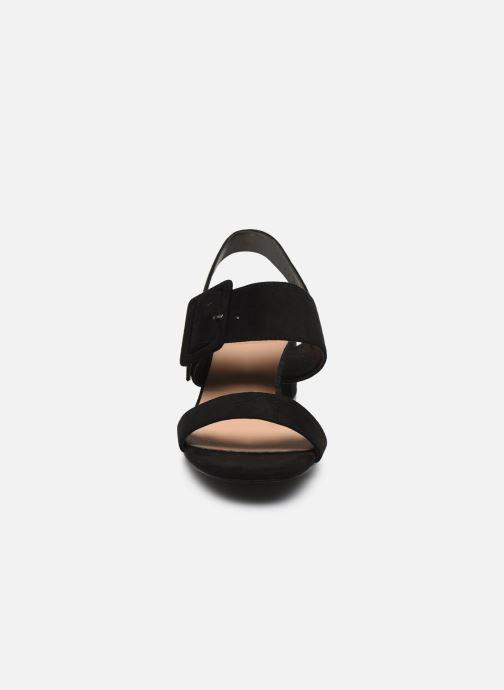 Sandales et nu-pieds I Love Shoes CACTOS Noir vue portées chaussures