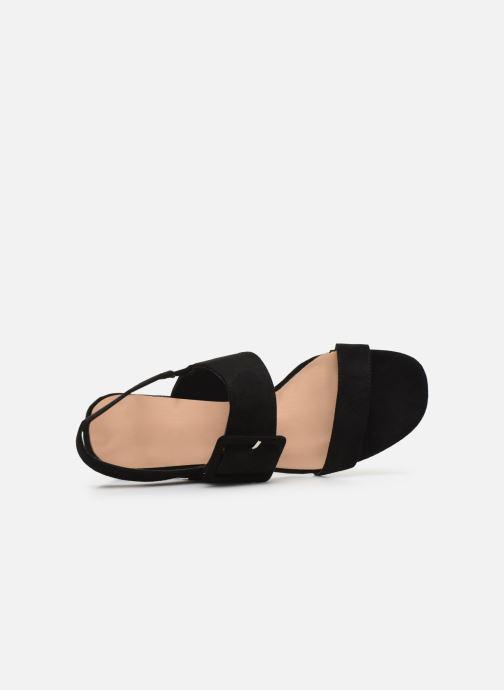 Sandalias I Love Shoes CACTOS Negro vista lateral izquierda