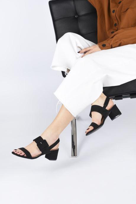 Sandalias I Love Shoes CACTOS Marrón vista de abajo