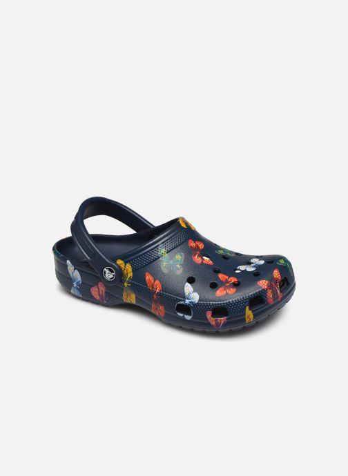 Mules et sabots Crocs Classic Vacay Vibes Clog Bleu vue détail/paire
