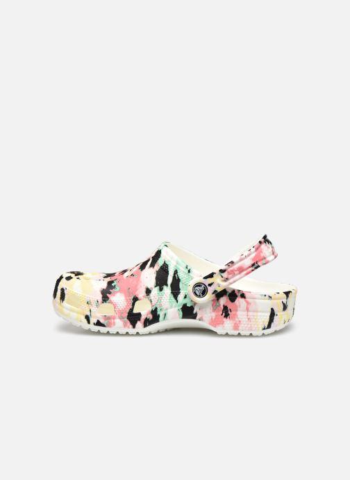Zoccoli Crocs Classic Tie Dye Mania Clog Multicolore immagine frontale