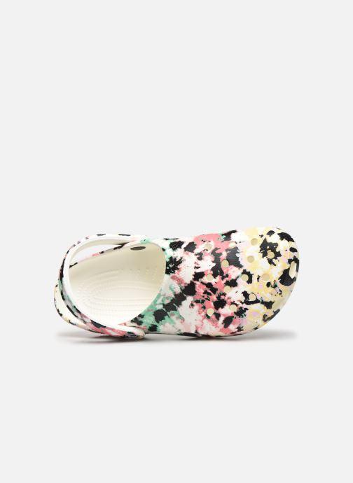 Zuecos Crocs Classic Tie Dye Mania Clog Multicolor vista lateral izquierda
