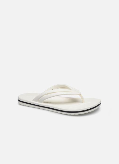 Tongs Crocs Crocband Flip II W Blanc vue détail/paire