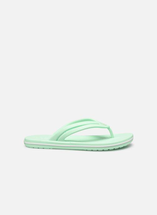 Zehensandalen Crocs Crocband Flip II W grün ansicht von hinten