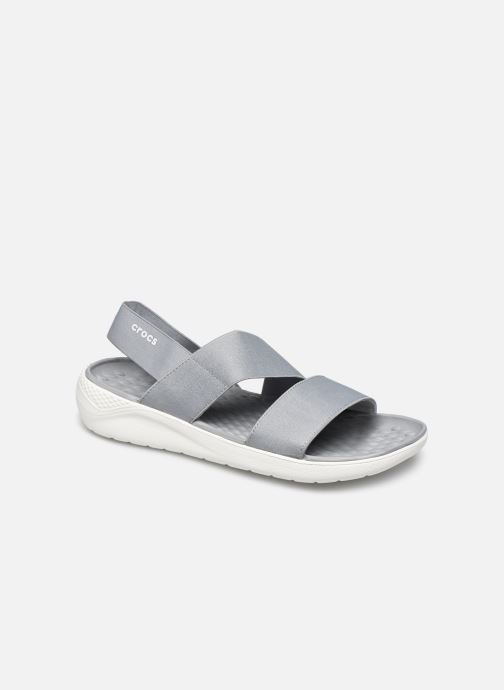 Sandalen Crocs LiteRide Stretch Sandal W grau detaillierte ansicht/modell