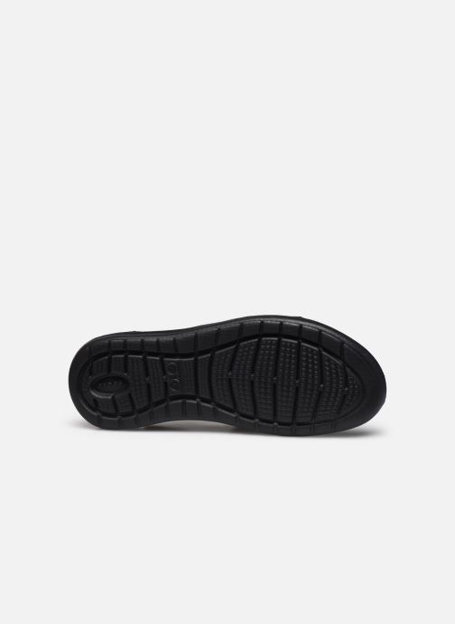 Sandalias Crocs LiteRide Stretch Sandal W Negro vista de arriba