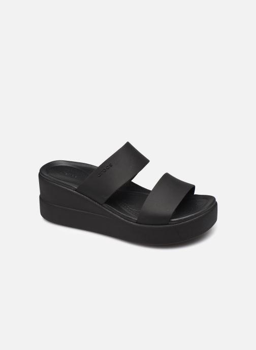 Clogs & Pantoletten Crocs Crocs Brooklyn Mid Wedge W schwarz detaillierte ansicht/modell