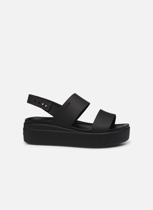 Sandali e scarpe aperte Crocs Crocs Brooklyn Low Wedge W Nero immagine posteriore