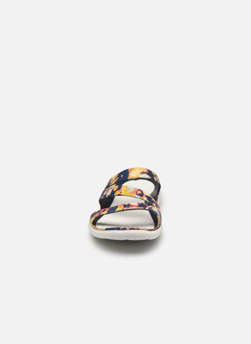 Mules et sabots Crocs Swiftwater TieDye Mania Sndl W Multicolore vue portées chaussures