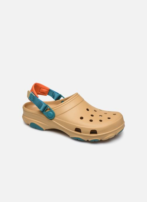 Sandals Crocs Classic All Terrain Clog Brown detailed view/ Pair view
