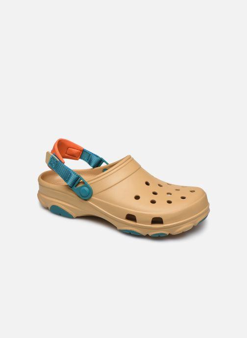 Sandalias Crocs Classic All Terrain Clog Marrón vista de detalle / par