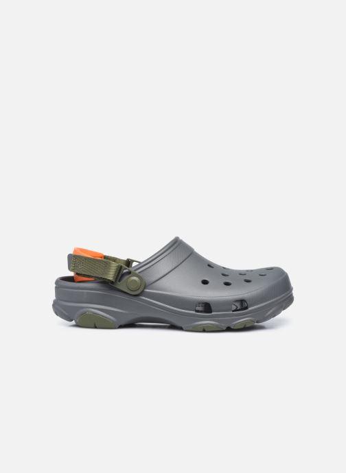 Sandales et nu-pieds Crocs Classic All Terrain Clog Gris vue derrière