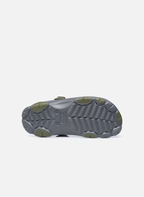 Sandalias Crocs Classic All Terrain Clog Gris vista de arriba