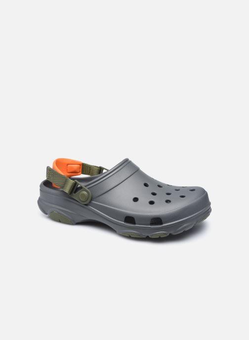 Sandales et nu-pieds Crocs Classic All Terrain Clog Gris vue détail/paire