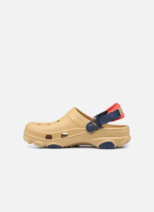 Sandali e scarpe aperte Crocs Classic All Terrain Clog Marrone immagine frontale