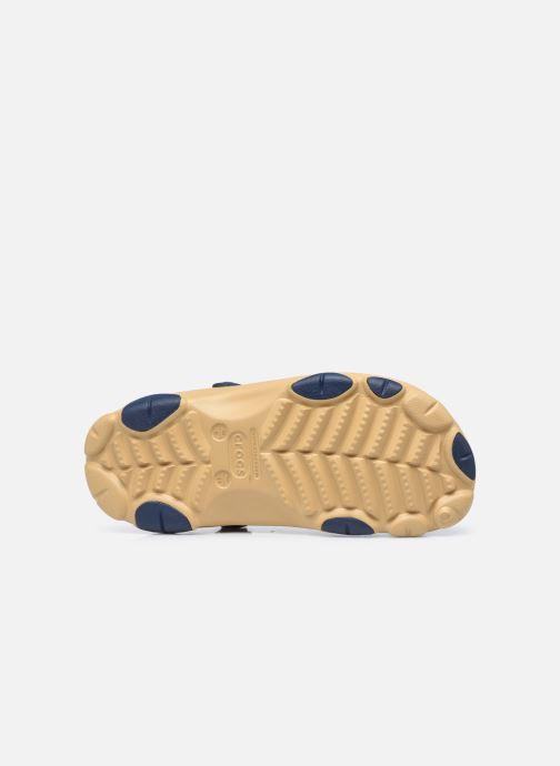 Sandali e scarpe aperte Crocs Classic All Terrain Clog Marrone immagine dall'alto