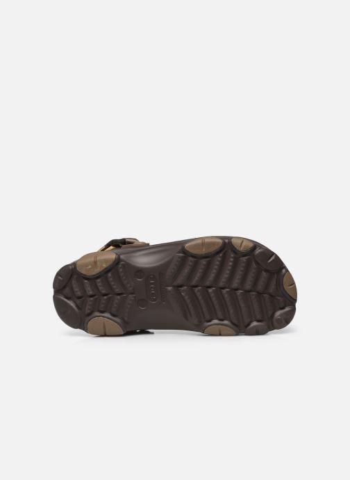 Sandales et nu-pieds Crocs Classic All Terrain Clog Marron vue haut