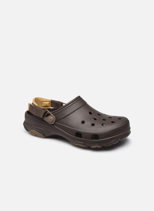 Sandales et nu-pieds Crocs Classic All Terrain Clog Marron vue détail/paire