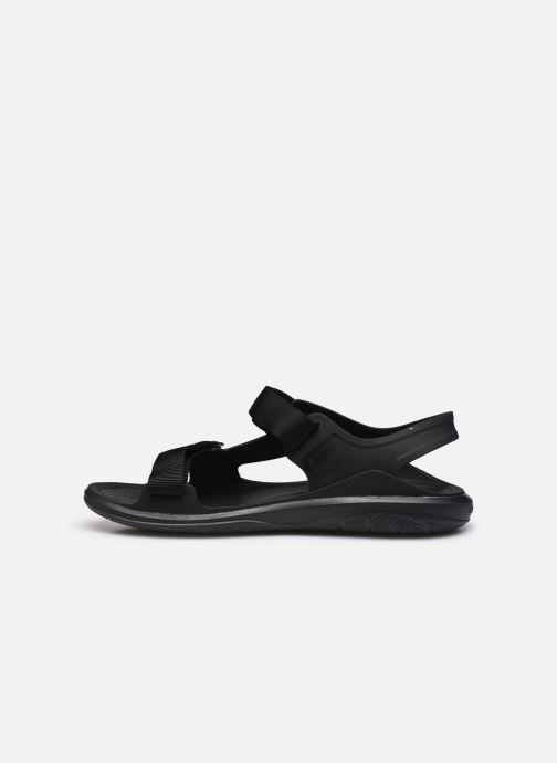 Sandalias Crocs Swiftwater Expedition Sandal M Negro vista de frente