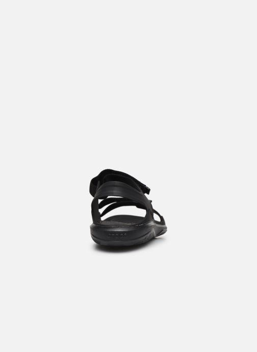 Sandalias Crocs Swiftwater Expedition Sandal M Negro vista lateral derecha