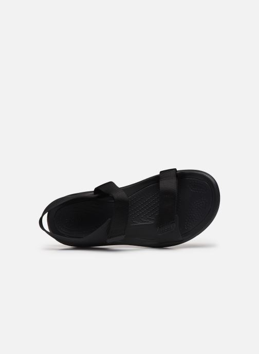 Sandalias Crocs Swiftwater Expedition Sandal M Negro vista lateral izquierda