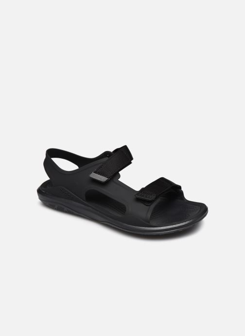 Sandalias Crocs Swiftwater Expedition Sandal M Negro vista de detalle / par