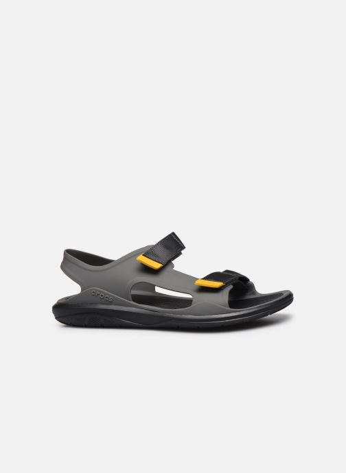 Sandalias Crocs Swiftwater Expedition Sandal M Gris vistra trasera