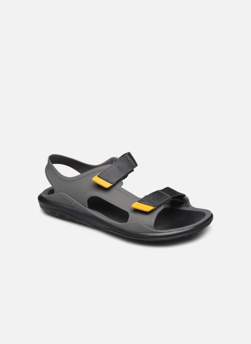 Sandales et nu-pieds Crocs Swiftwater Expedition Sandal M Gris vue détail/paire