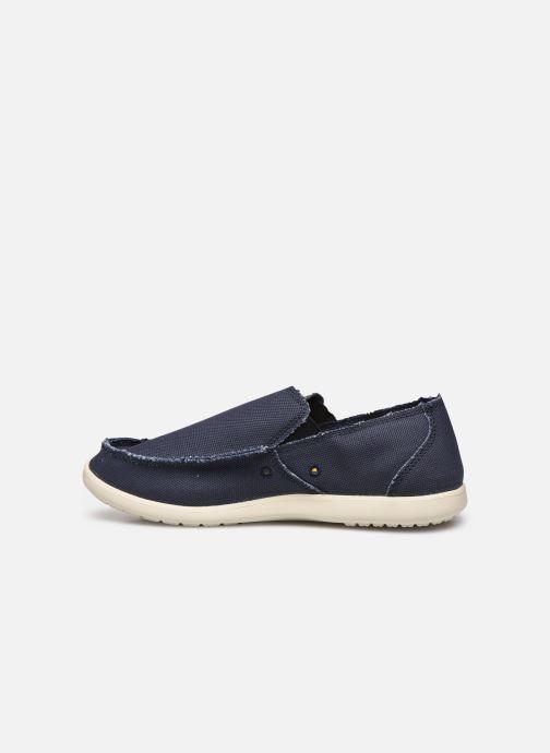 Loafers Crocs Santa Cruz Mens Blå se forfra