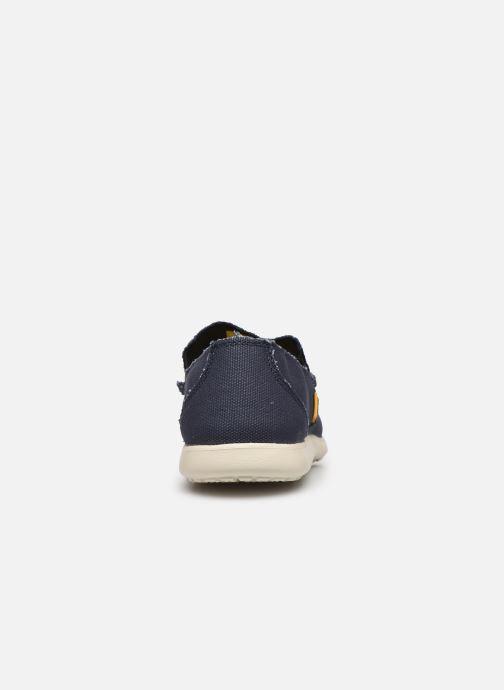 Loafers Crocs Santa Cruz Mens Blå Se fra højre