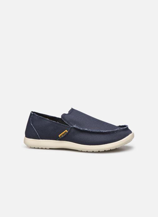 Loafers Crocs Santa Cruz Mens Blå se bagfra
