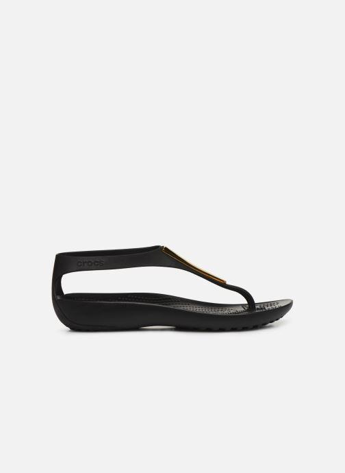 Sandales et nu-pieds Crocs Crocs Serena Metallic Bar Fp W Noir vue derrière