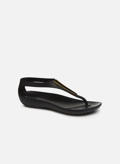Sandales et nu-pieds Crocs Crocs Serena Metallic Bar Fp W Noir vue détail/paire