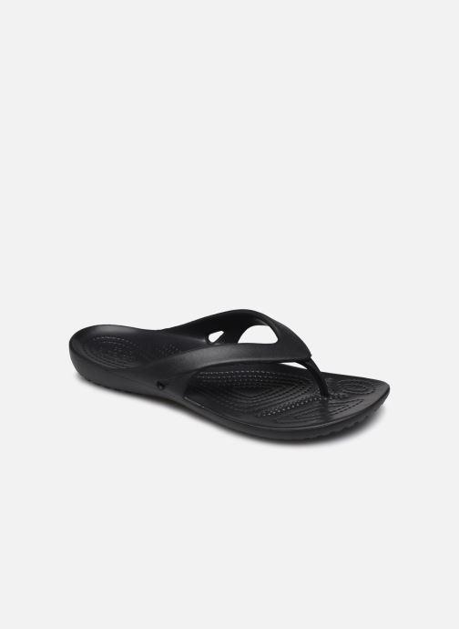 Tongs Crocs Kadee II Flip W Noir vue détail/paire