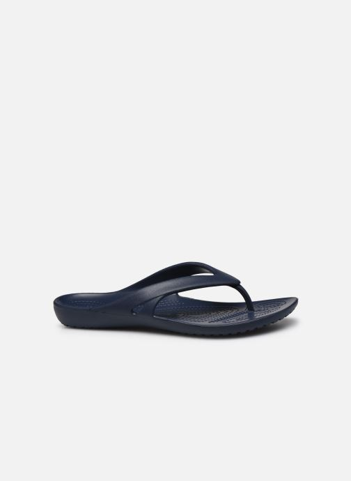 Chanclas Crocs Kadee II Flip W Azul vistra trasera