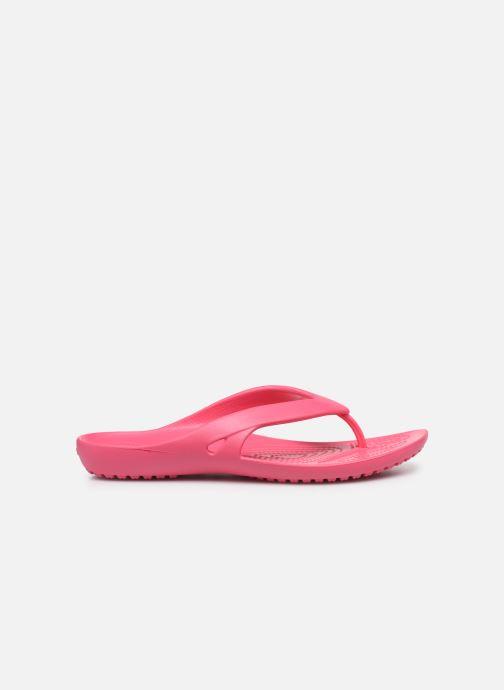 Zehensandalen Crocs Kadee II Flip W rosa ansicht von hinten