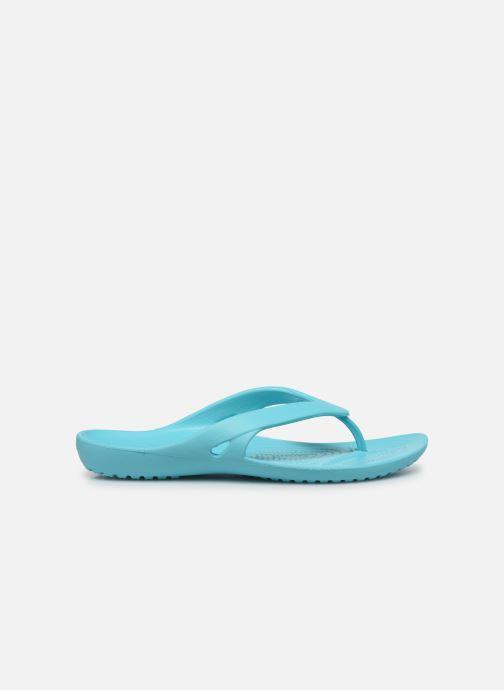Zehensandalen Crocs Kadee II Flip W blau ansicht von hinten