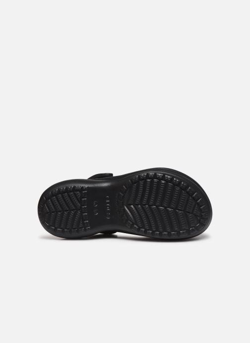 Wedges Crocs Crocs Classic Bae Clog Zwart boven