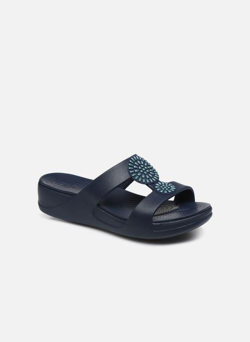 Zoccoli Crocs Crocs Monterey Diamante Wedge W Azzurro vedi dettaglio/paio