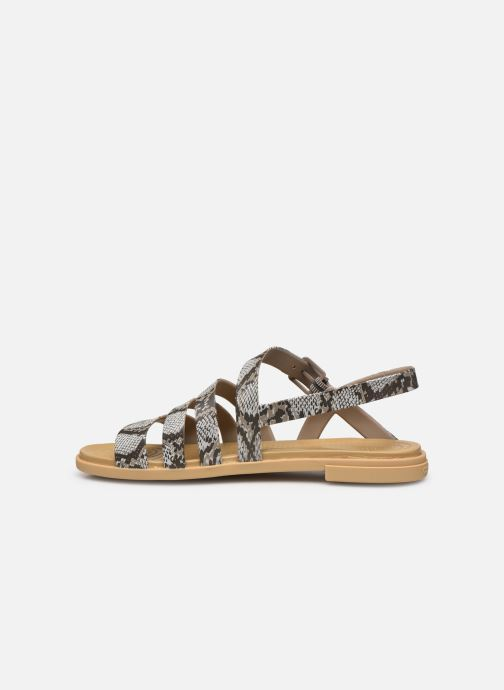 Sandali e scarpe aperte Crocs Crocs Tulum Sandal W Marrone immagine frontale